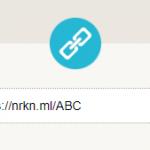 Chromeの拡張機能「URL短縮」